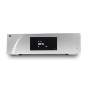 P1 Dual Monaural Phono-Stage - MM_MC screen (front view)