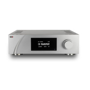 I1 Universal Integrated Amplifier - CD screen (high angle)