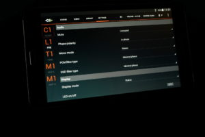 CH-Control Android App Screen