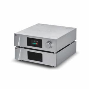 CH Precision L10 Preamplifer & Power Supply (Volume screen) 3_4 high angle