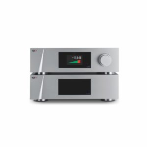 CH Precision L10 Preamplifer & Power Supply (Volume screen) front