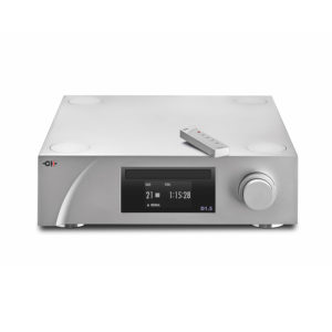 D1.5 CD_SACD Player_Transport with remote control (high angle)